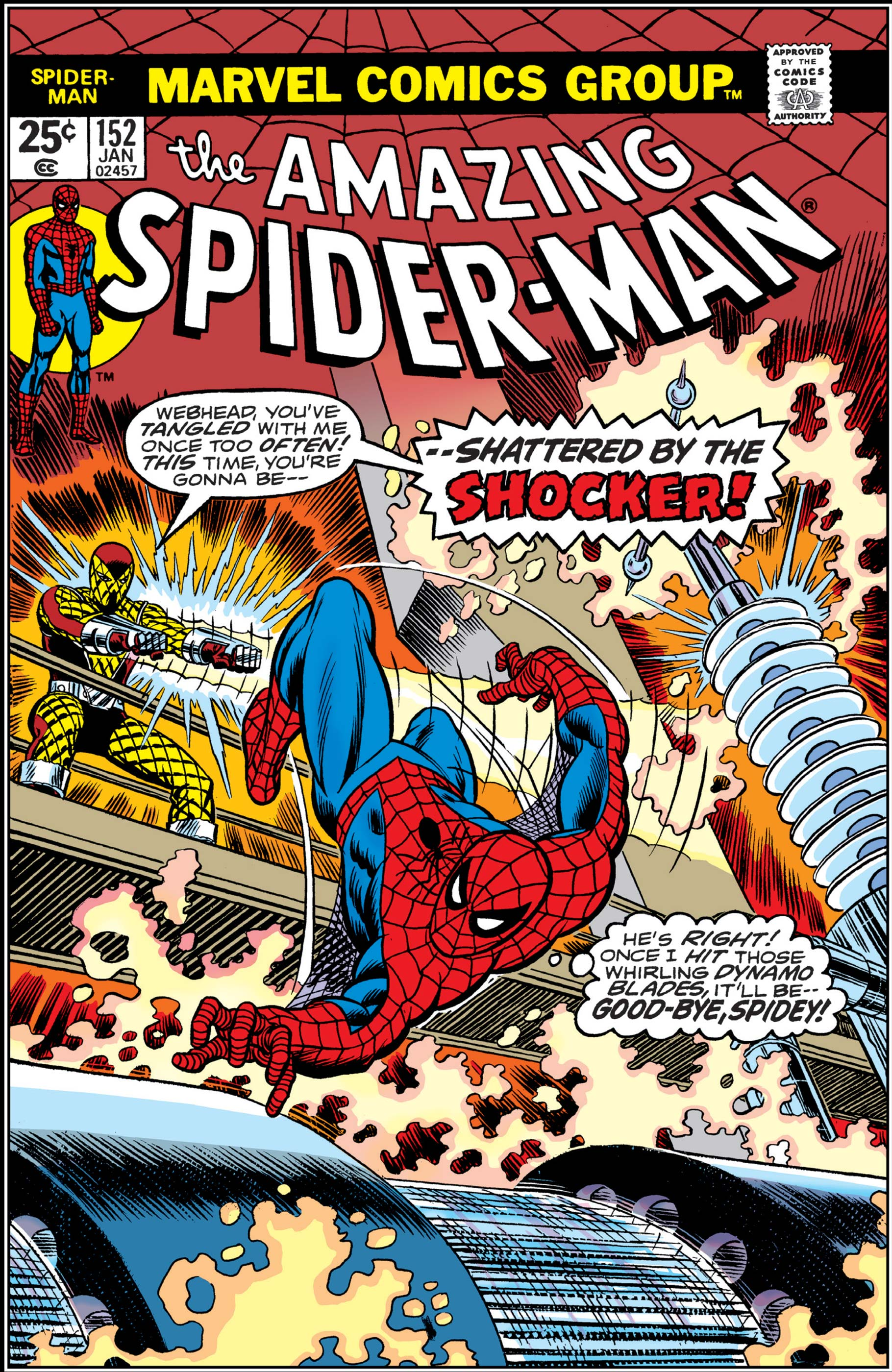 The Amazing Spider-Man (1963) #152