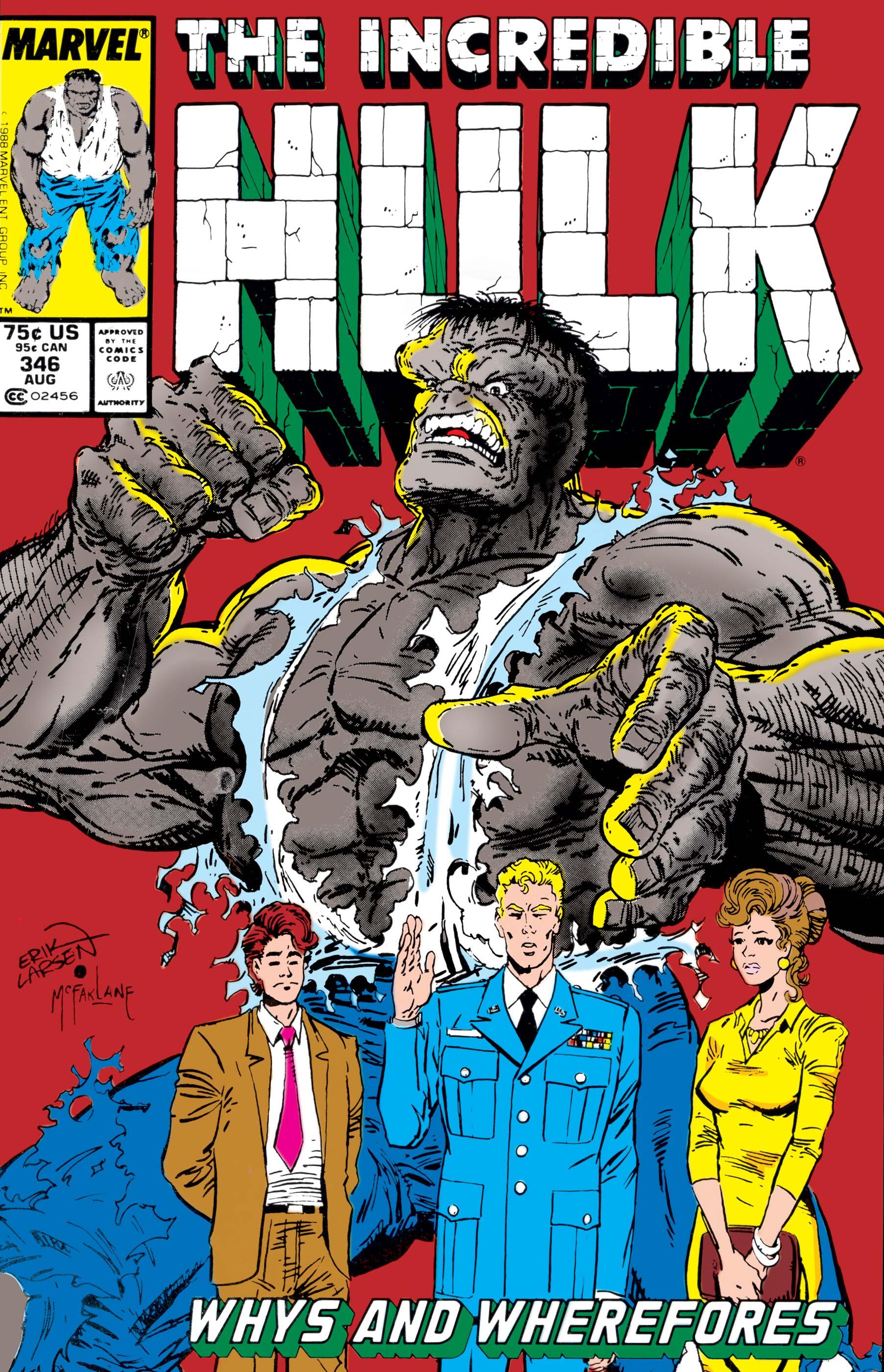 Incredible Hulk (1962) #346