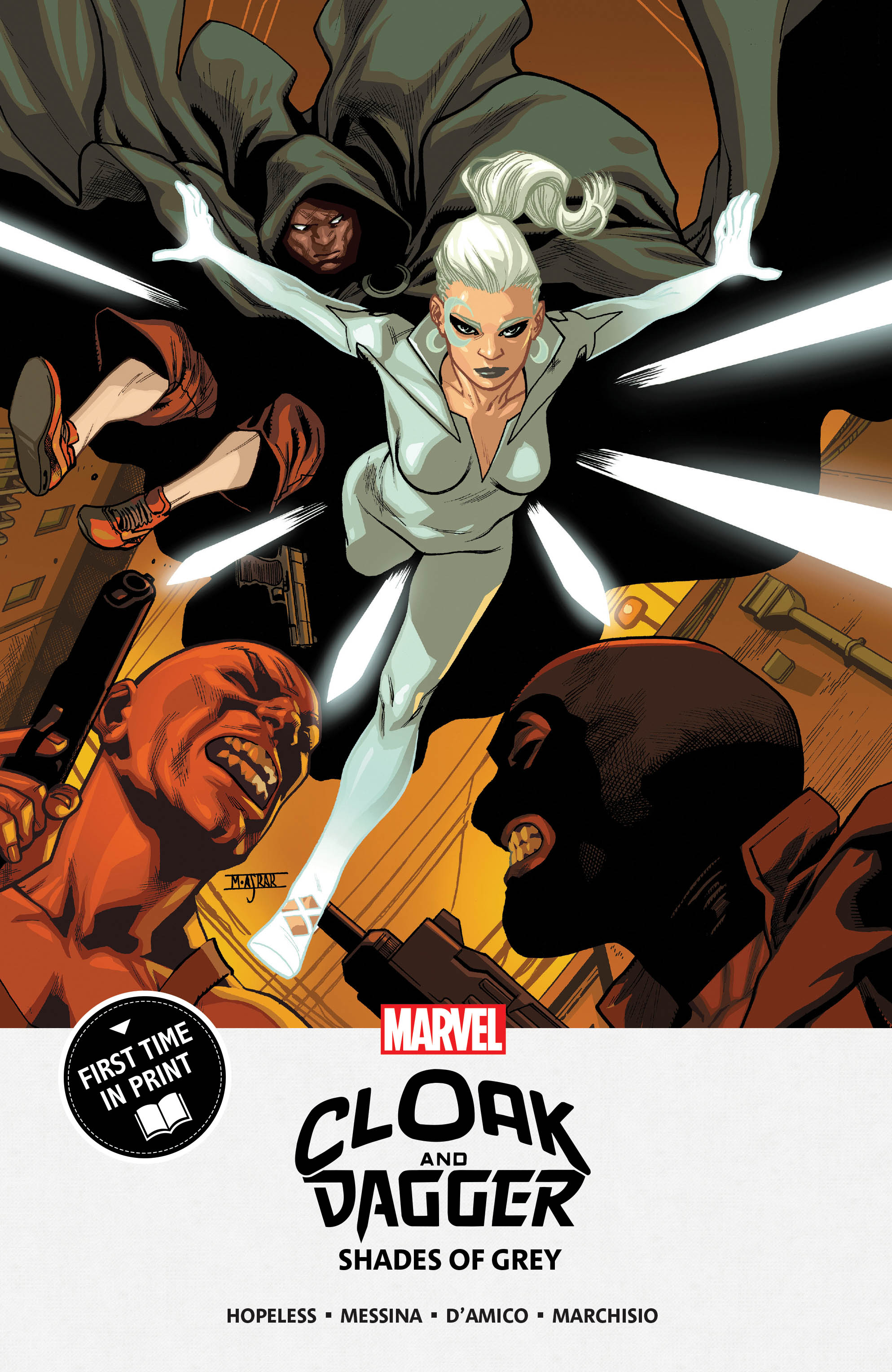 Cloak and Dagger: Shades of Grey (Trade Paperback)