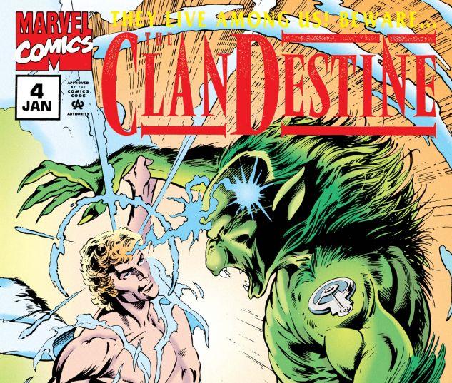 CLANDESTINE (1994) #4