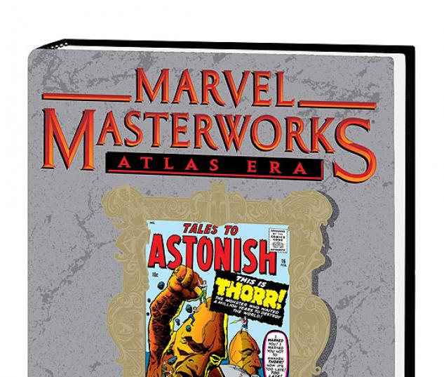 MARVEL MASTERWORKS: ATLAS ERA TALES TO ASTONISH VOL. 2 HC #0