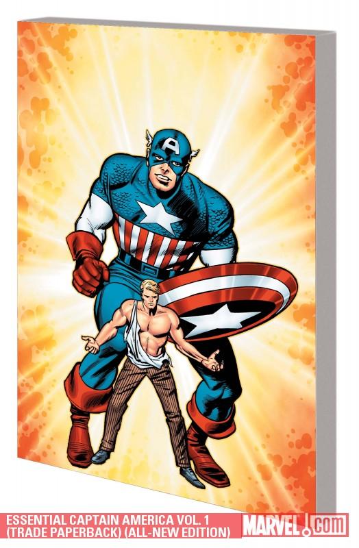 Essential Captain America Vol. 1 (Trade Paperback)