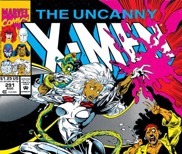 Uncanny X-Men (1963) #291 Cover