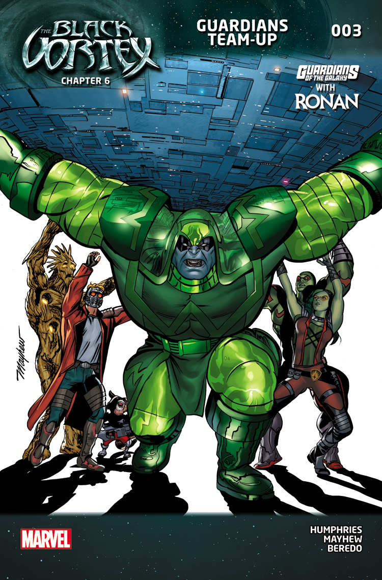 Guardians Team-Up (2015) #3
