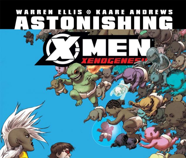 ASTONISHING X-MEN: XENOGENESIS (2010) #5 Cover