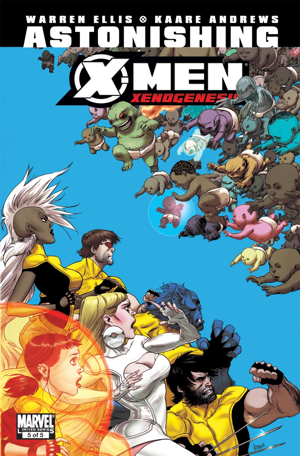 Astonishing X-Men: Xenogenesis (2010) #5