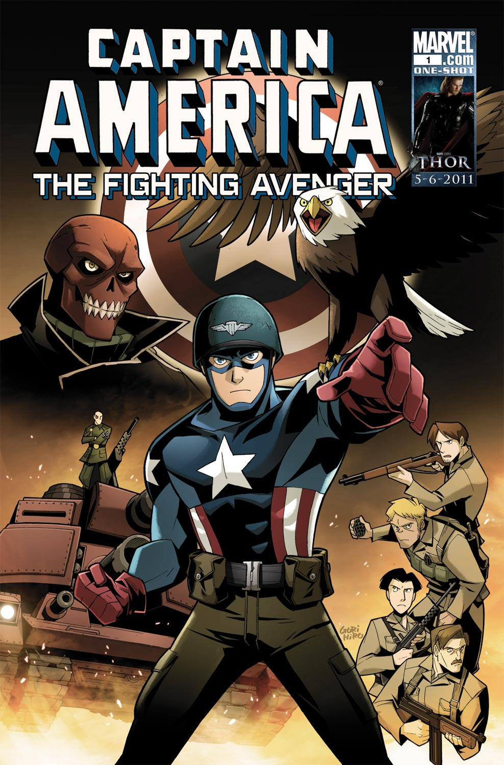 Captain America: The Fighting Avenger (2010) #1