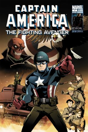 Captain America: The Fighting Avenger #1
