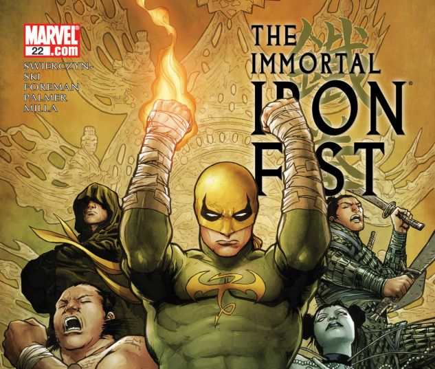 THE IMMORTAL IRON FIST (2006) #22