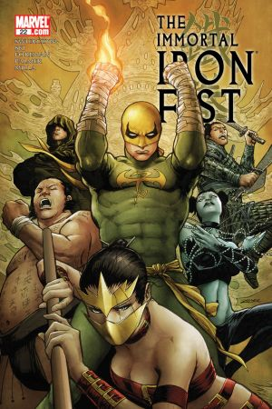 The Immortal Iron Fist #22
