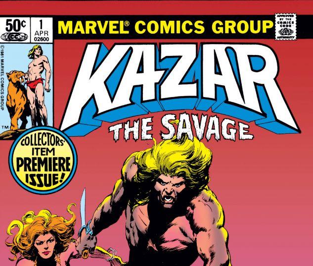 Cover Ka-Zar 1