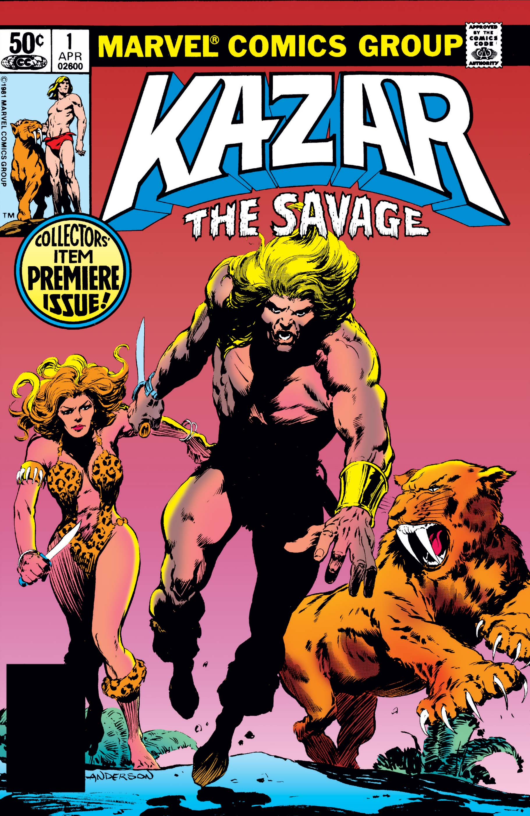 Ka-Zar the Savage (1981) #1