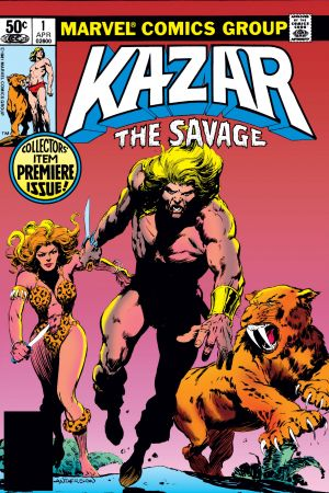 Ka-Zar the Savage #1