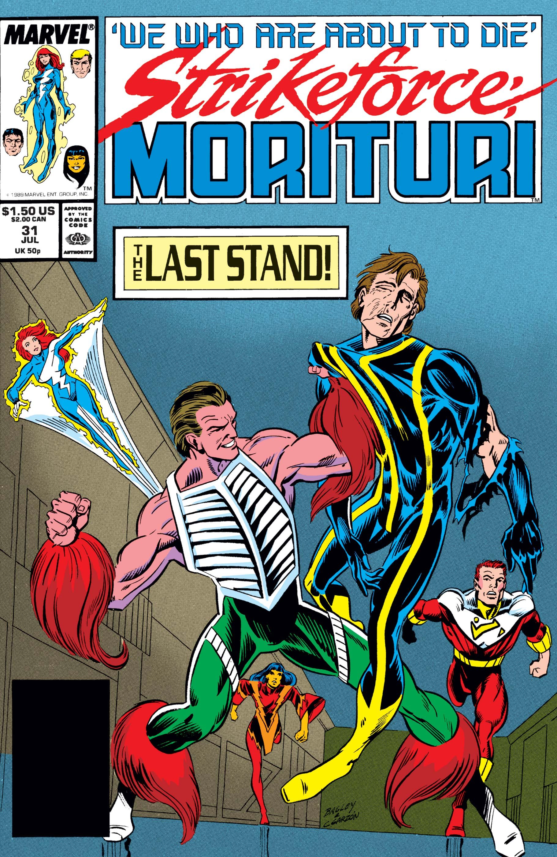 Strikeforce: Morituri (1986) #31