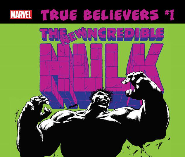 TRUE BELIEVERS: HULK - PROFESSOR HULK 1 #1