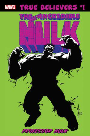 True Believers: Hulk - Professor Hulk (2019) #1