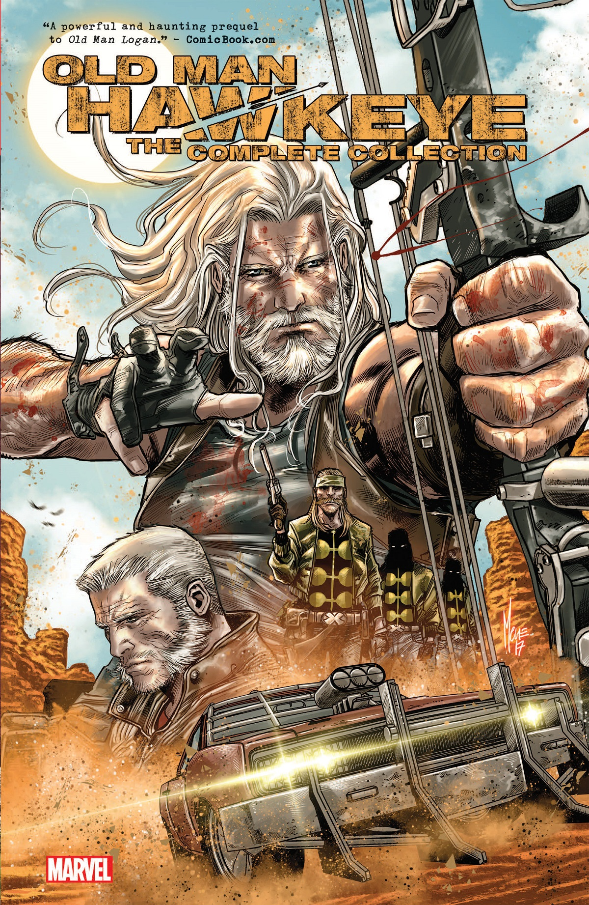 Old Man Hawkeye: The Complete Collection (Trade Paperback)