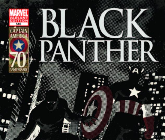 Black Panther: Man Without Fear #516 Captain America 70th Anniversary Variant