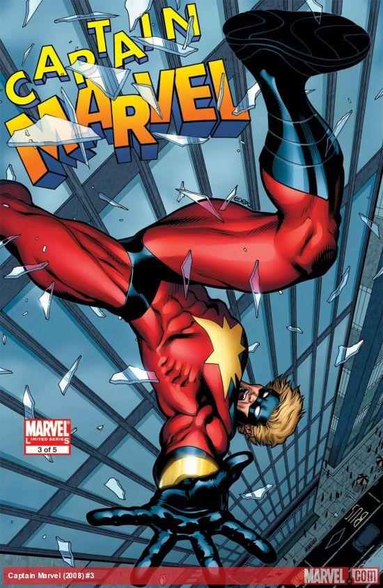 Captain Marvel (2008) #3