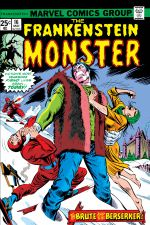 Frankenstein (1973) #16 cover