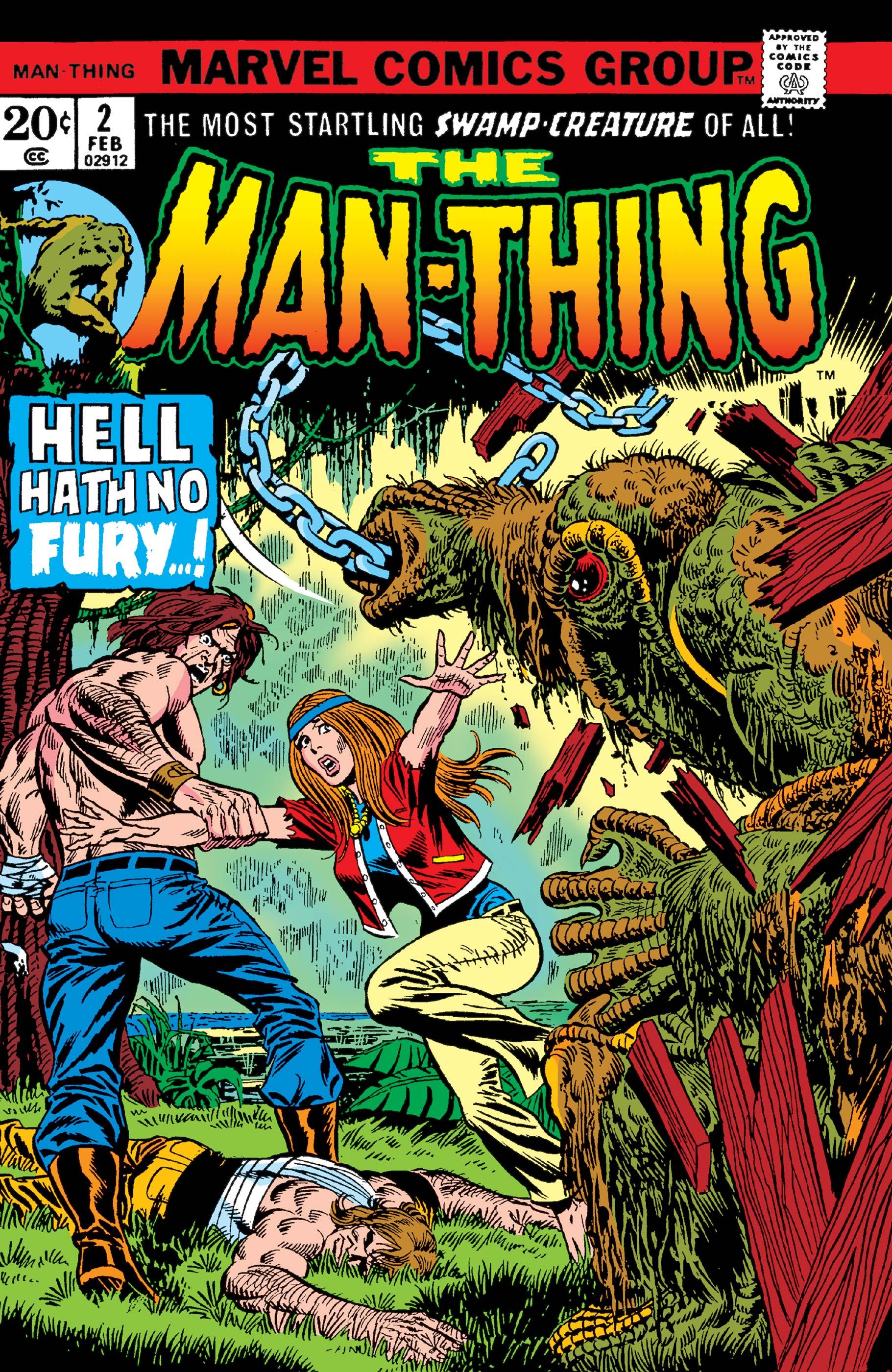 Man-Thing (1974) #2