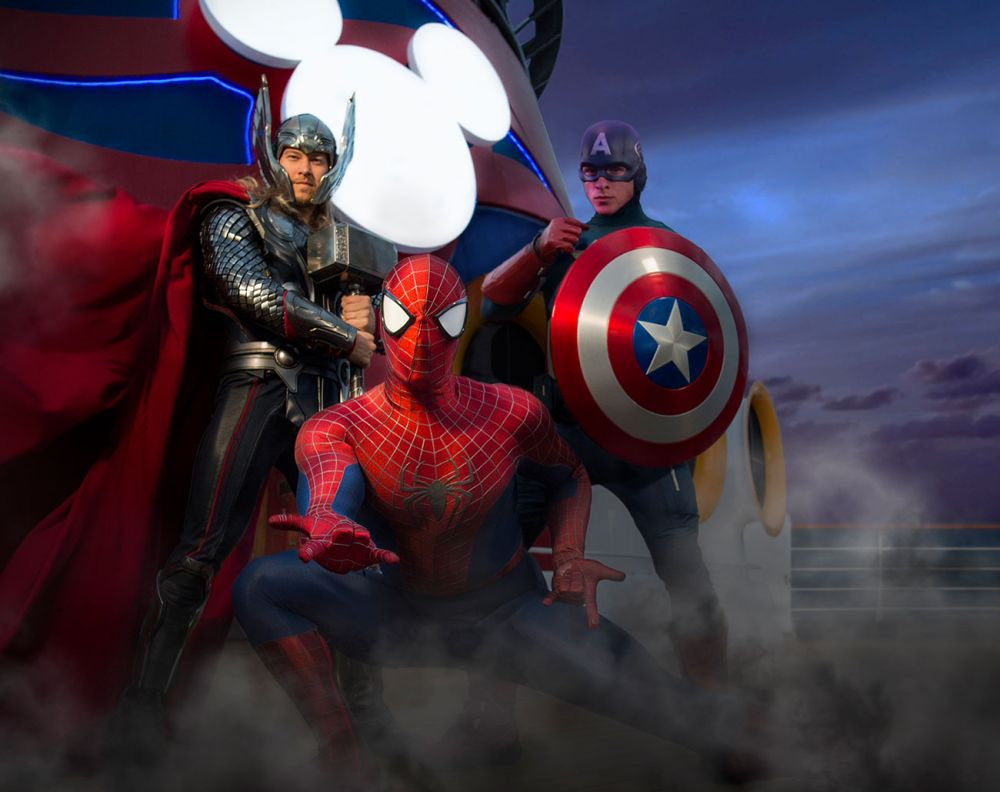 Disney Cruise Line Expands Marvel Day at Sea