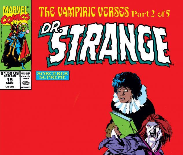Cover for Doctor Strange, Sorcerer Supreme 15