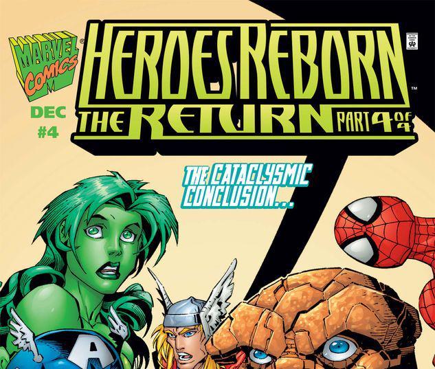 Heroes Reborn the Return #4