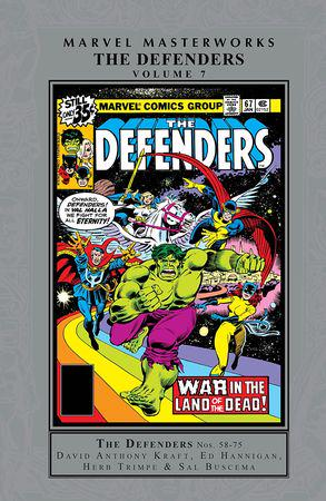 Marvel Masterworks: The Defenders Vol. 7 (Hardcover)