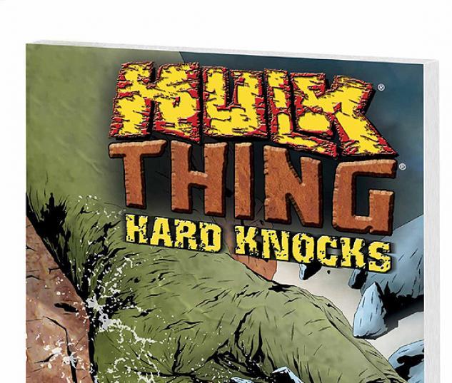 HULK & THING: HARD KNOCKS COVER