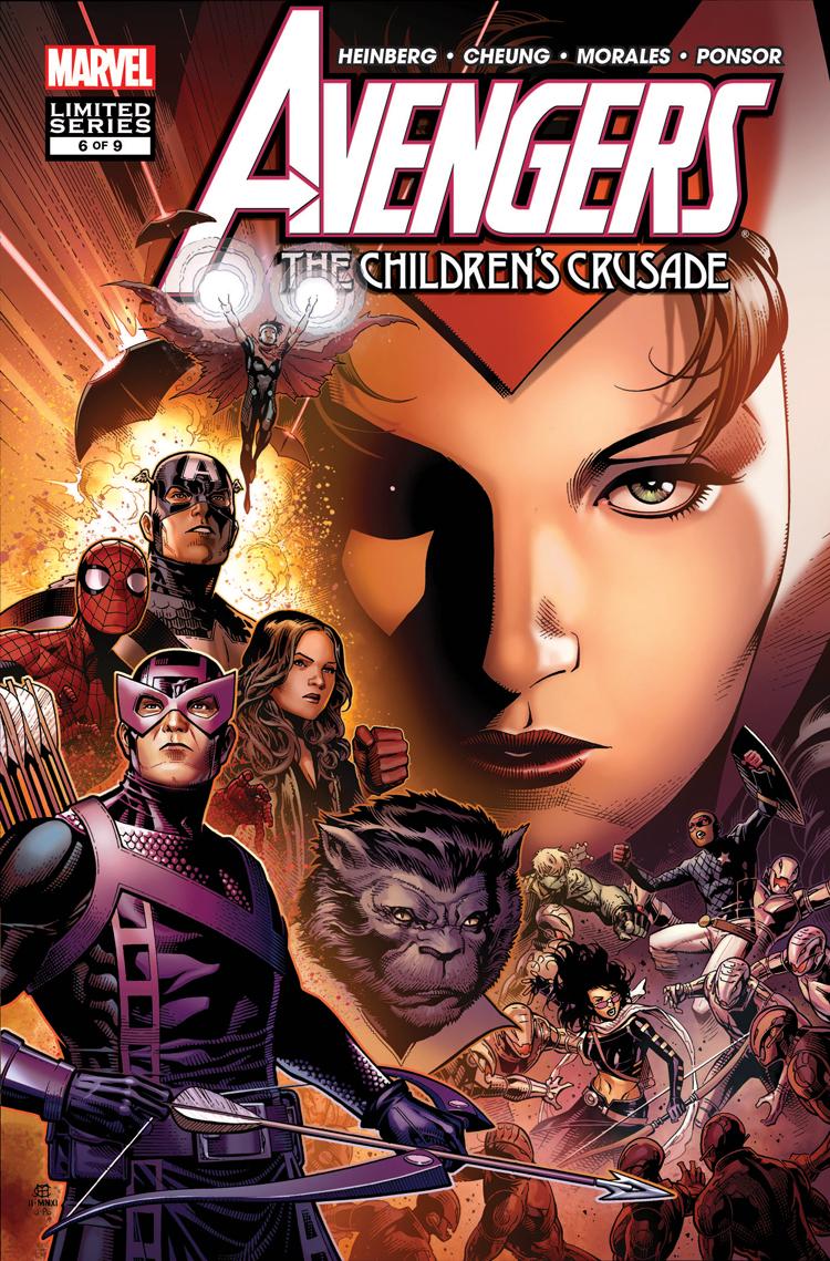 Avengers: The Children's Crusade (2010) #6