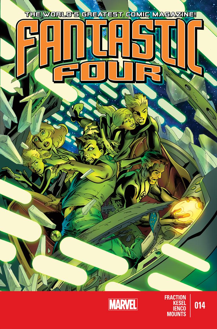 Fantastic Four (2012) #14