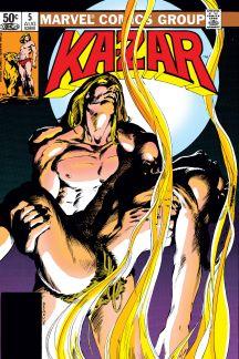 Ka-Zar the Savage (1981) #5