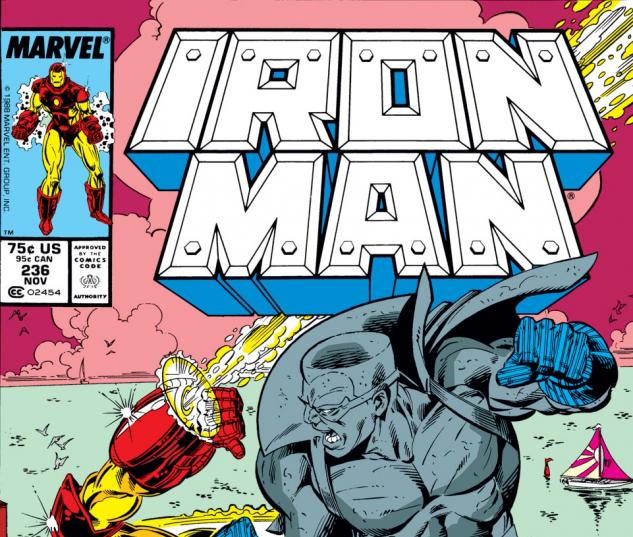 Iron Man (1968) #236 Cover