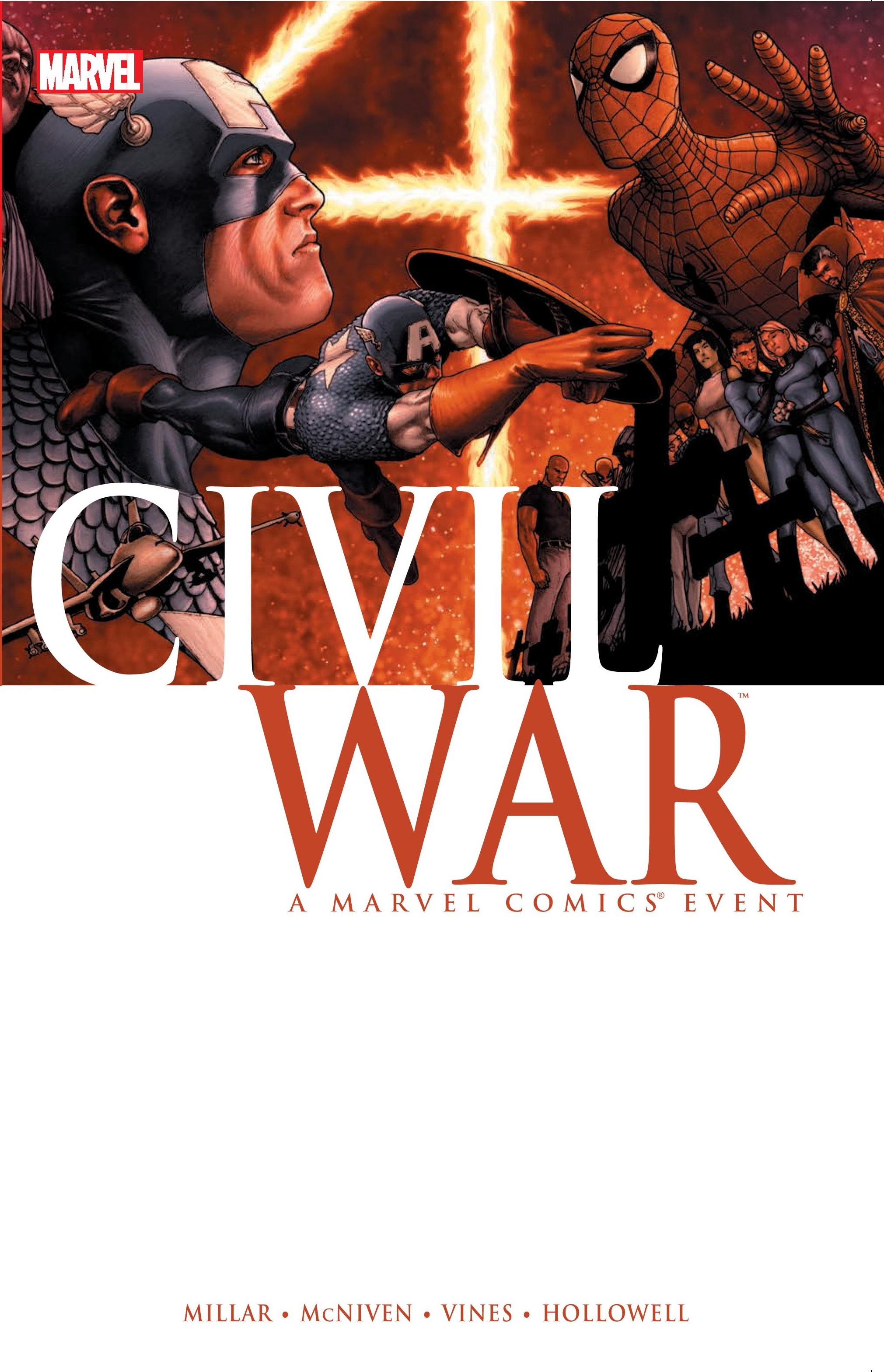 CIVIL WAR HC MCNIVEN COVER (Hardcover)