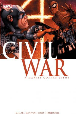 CIVIL WAR HC MCNIVEN COVER [NEW PRINTING] (Hardcover)