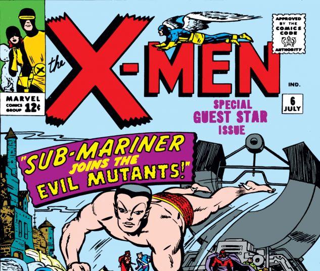 Uncanny X-Men (1963) #6