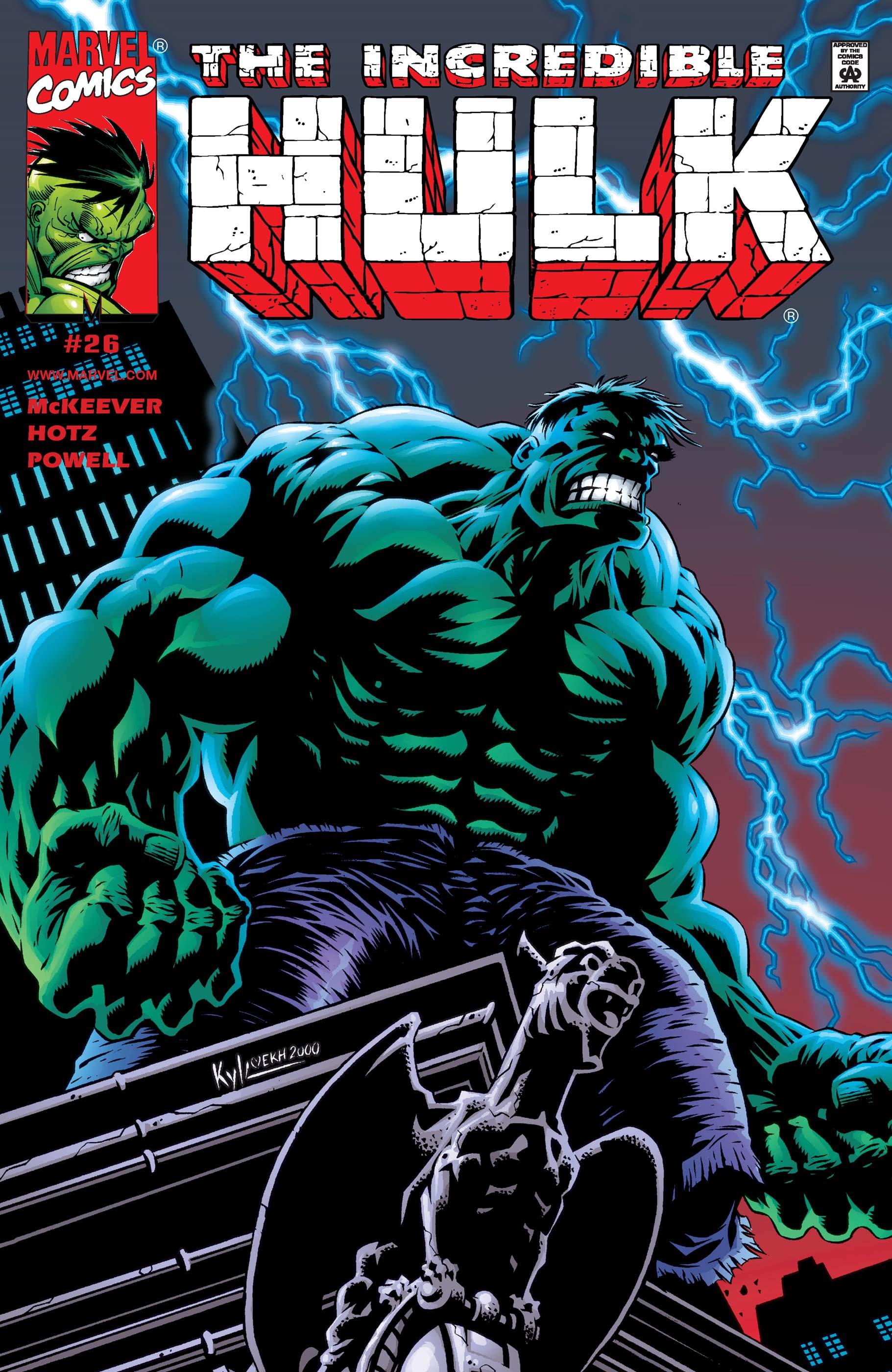 Incredible Hulk (1999) #26