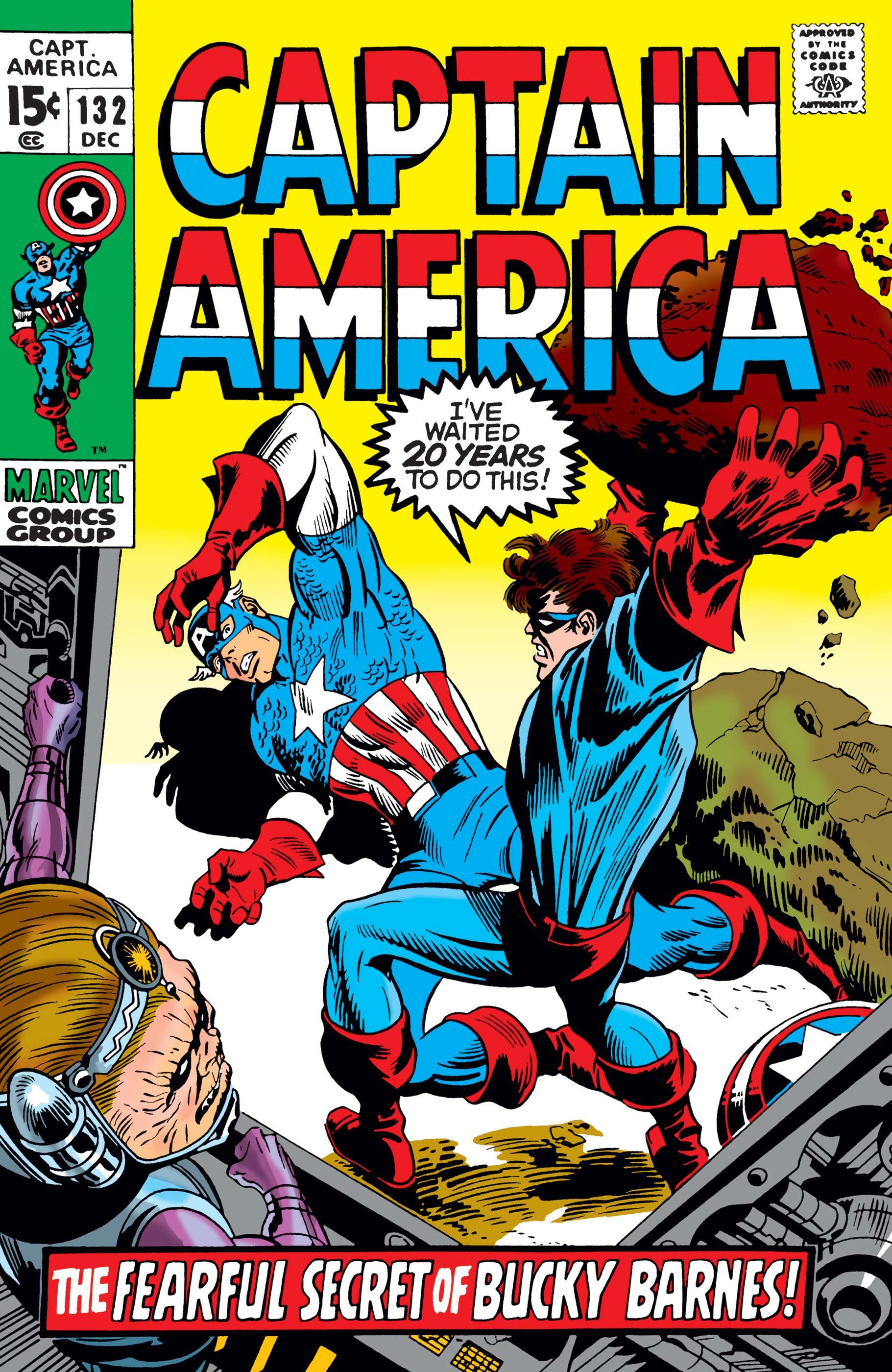 Captain America (1968) #132