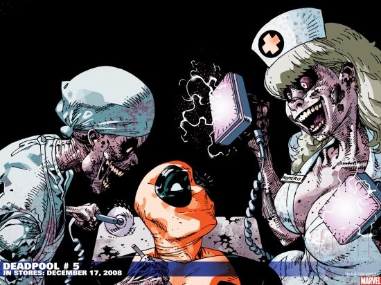 Deadpool (1997) #5 Wallpaper