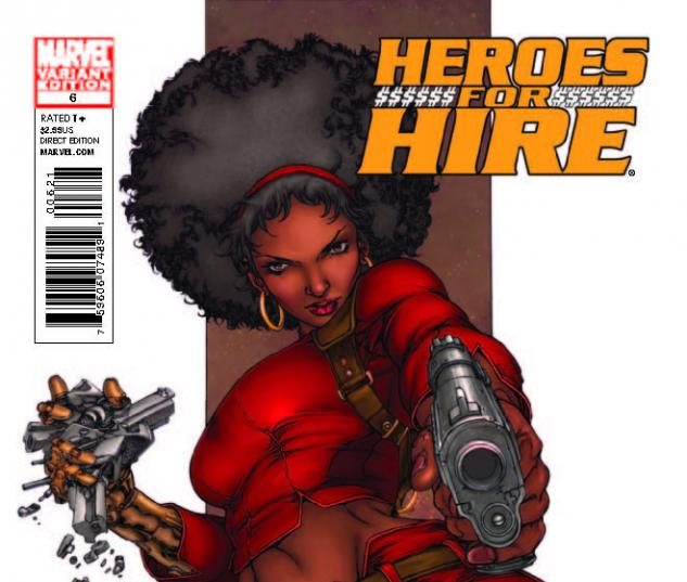 HEROES FOR HIRE 6 TOLIBAO VARIANT