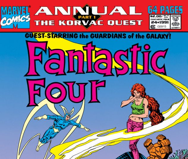 FANTASTIC FOUR ANNUAL (1963) #24