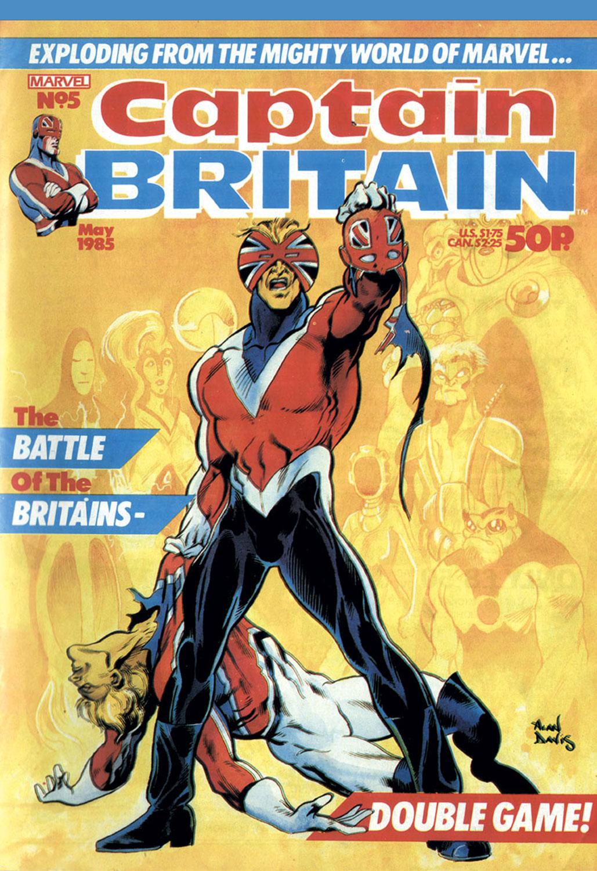 Captain Britain (1985) #5