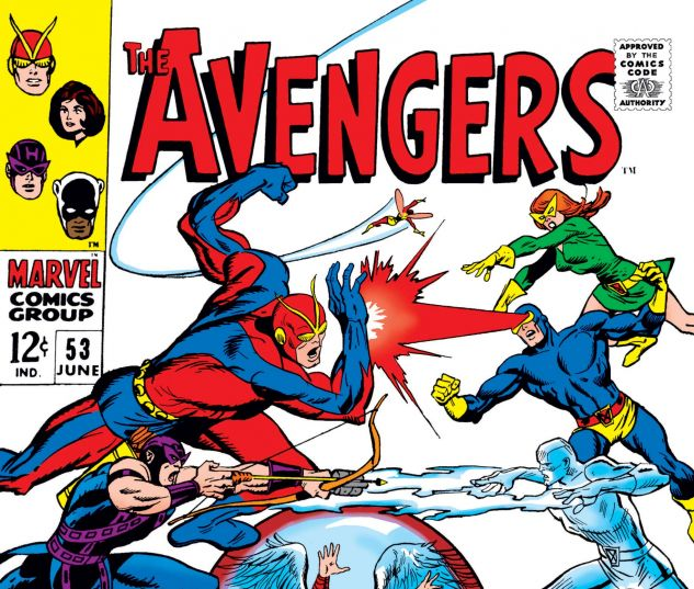 AVENGERS (1963) #53
