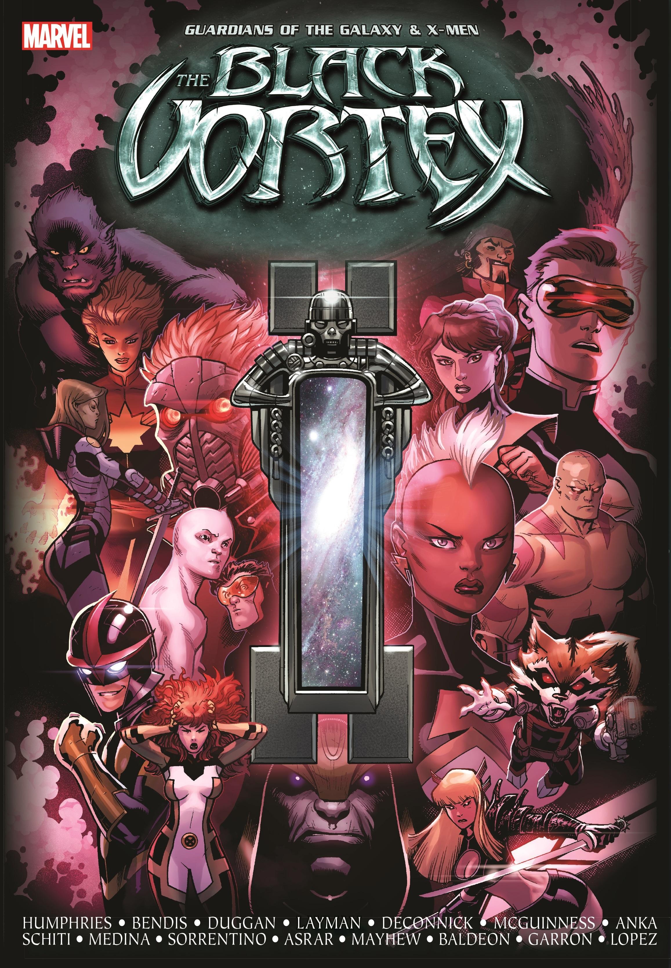 Guardians of the Galaxy & X-Men: The Black Vortex (Hardcover)