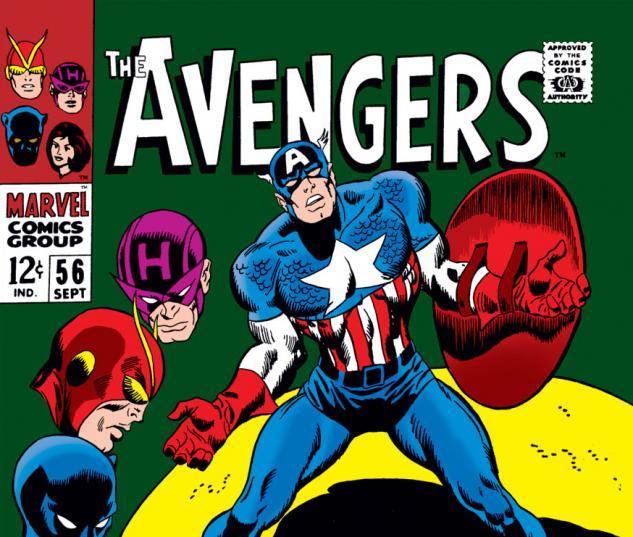 Avengers (1963) #56 cover