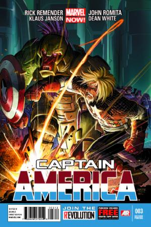 Captain America (2012) #3 (2nd Printing Variant)
