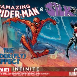 Amazing Spider-Man & Silk: The Spider(fly) Effect Infinite Comic