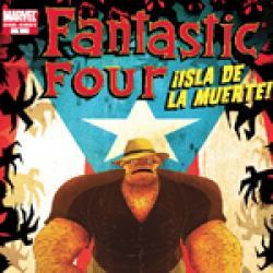 Fantastic Four: Isla De La Muerte! (2007)