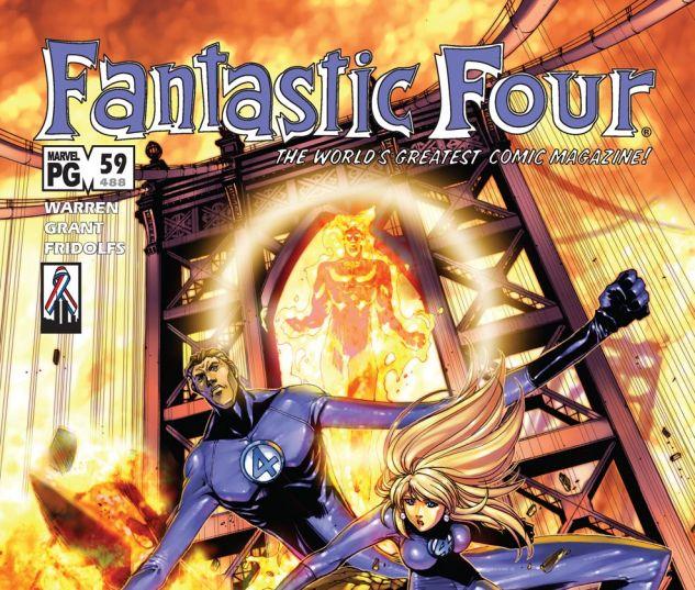 Fantastic Four (1998) #59 Cover